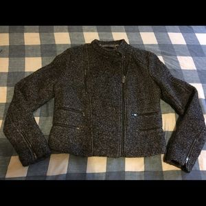 Banana Republic Bouncle Tweed Jacket Sz 4